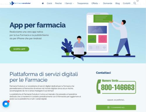 online il sito di Farmacia Evoluta
