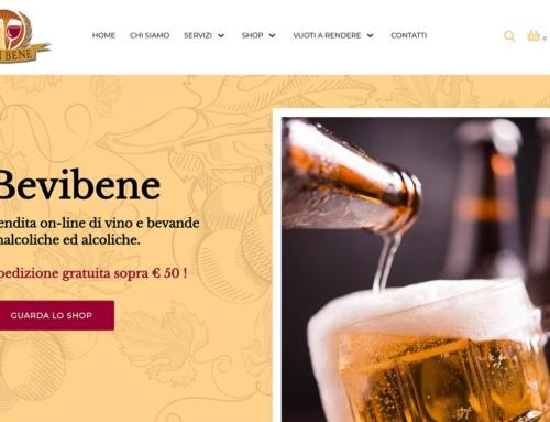Online il sito di Bevi Bene Sas di Novara