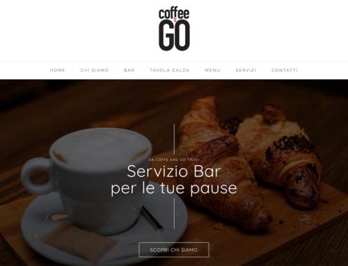 Online il sito di Coffee and Go