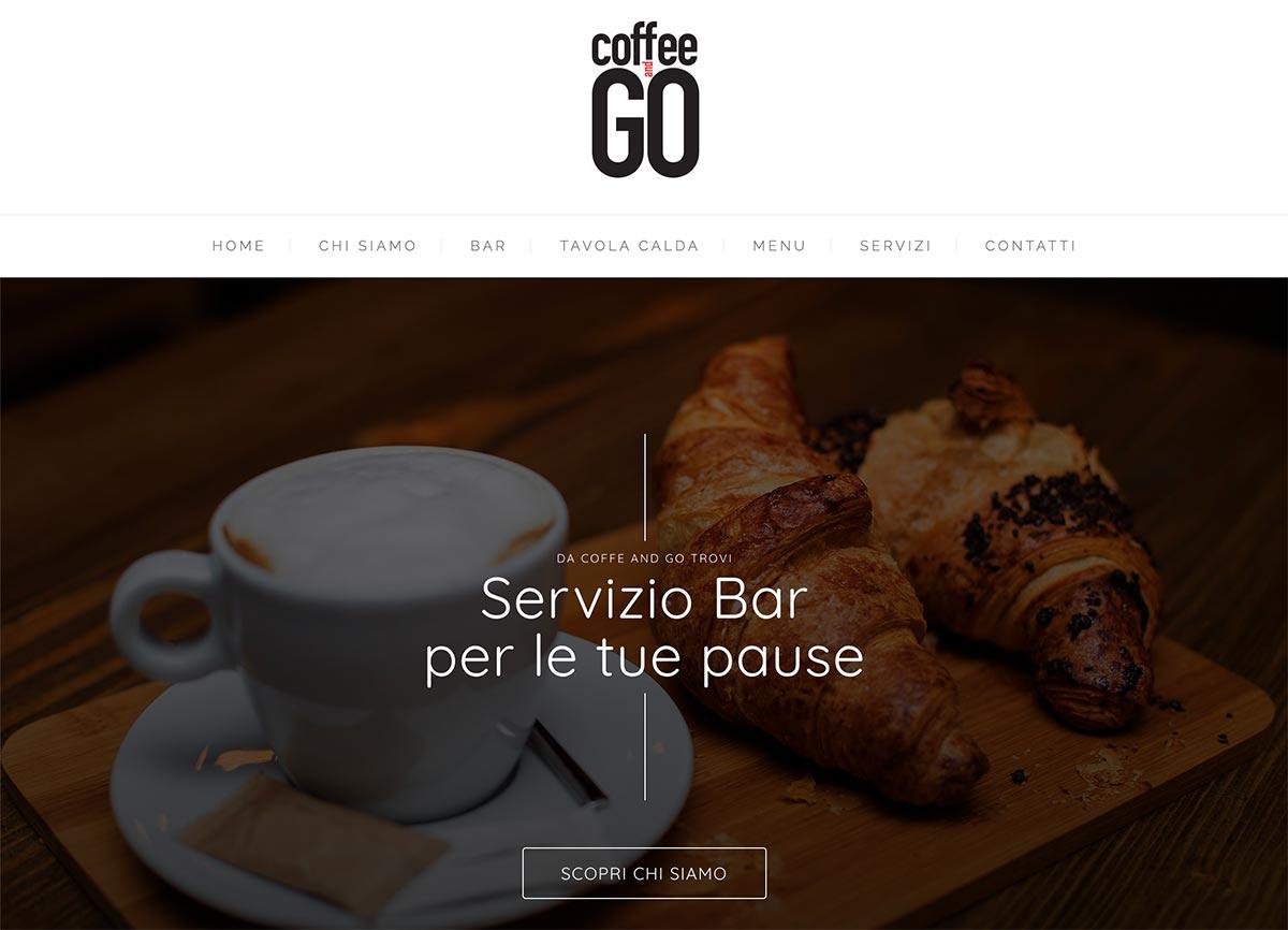 coffee and go sito realizzato da digitaltown