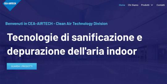 Online il sito cea-airtech.it